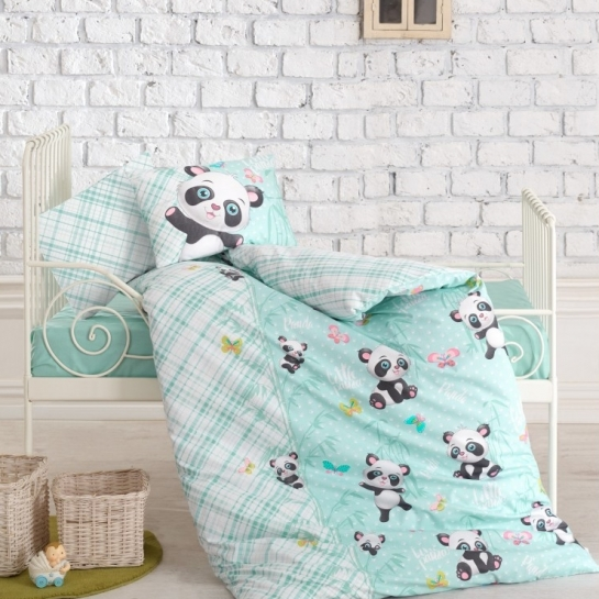 Cotton Box Panda mint